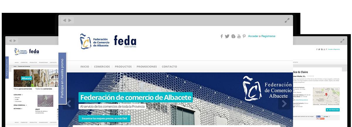 Galería Comercial de Federación de Comercio de Albacete