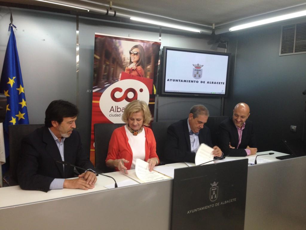 Convenio Ayuntamiento Albacete y FEDA